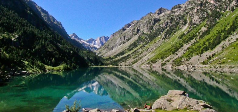 Le lac de Gaube - Hautes Pyrénées