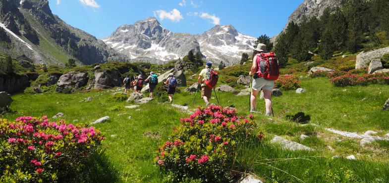 randonnée en Hautes Pyrénées avec le Domaine de Pyrène