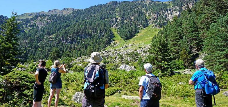 balade au Pont d'Espagne en famille vacances d'été Hautes Pyrénées Cauterets