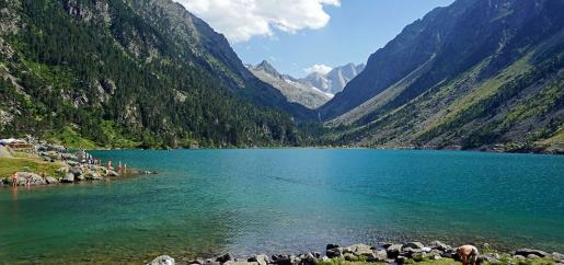 Vacances d'été en Hautes Pyrénées au Domaine de Pyrène village vacances - Lac de Gaube
